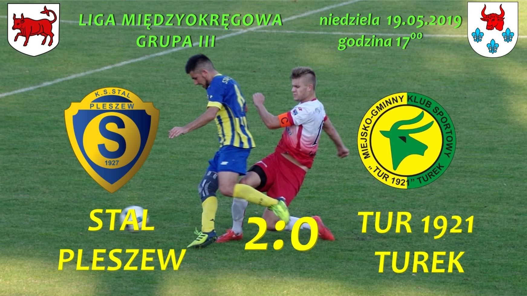 Stal Pleszew- Tur 1921 Turek 2:0, senior
