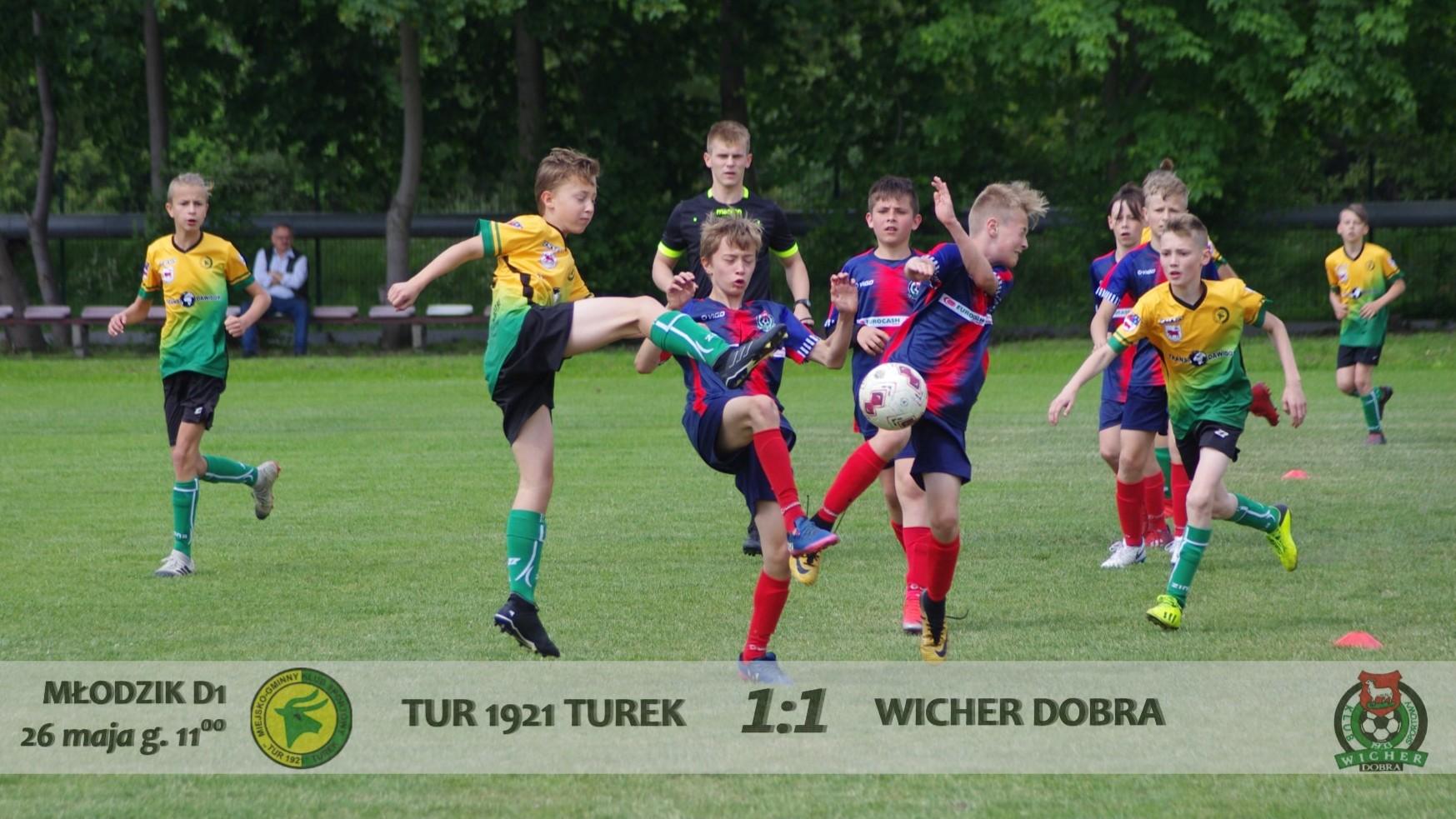 Tur 1921 Turek- Wicher Dobra 1:1 fotorelacja