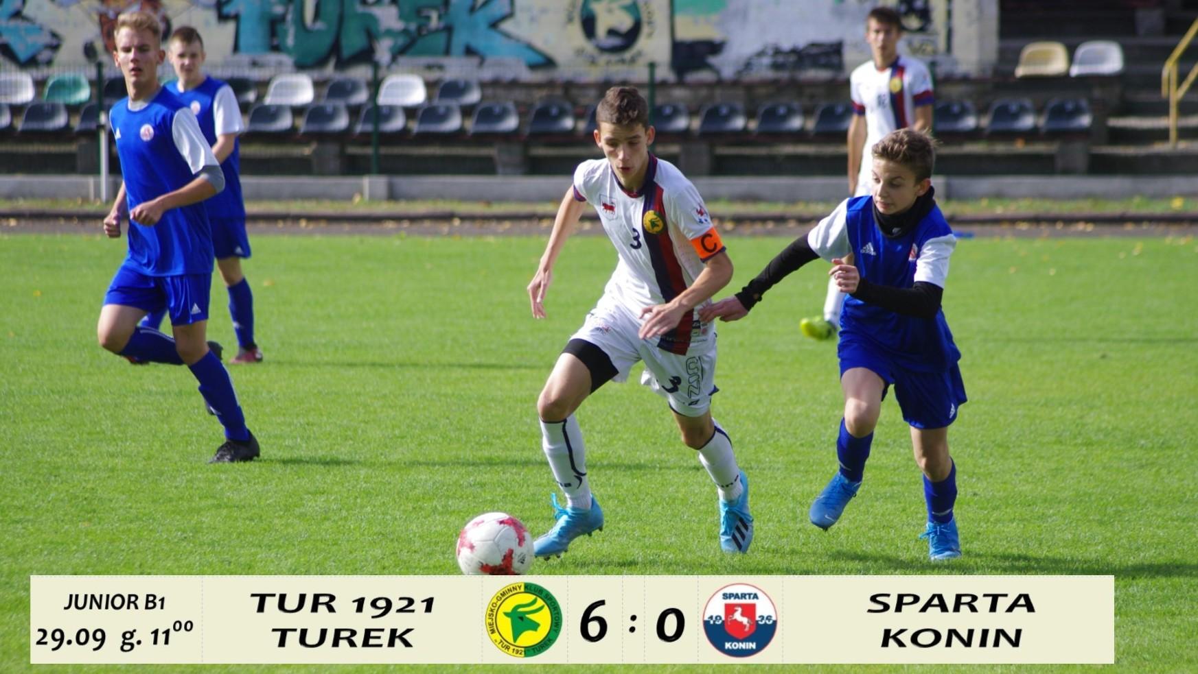 Tur 1921 Turek- Sparta Konin 6:0