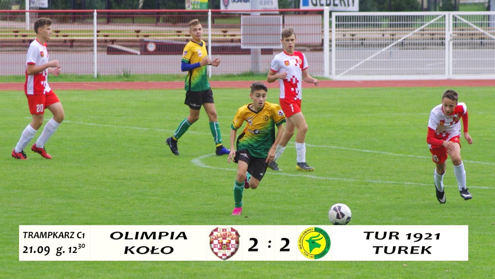 Olimpia Koło- Tur 1921 Turek 2:2