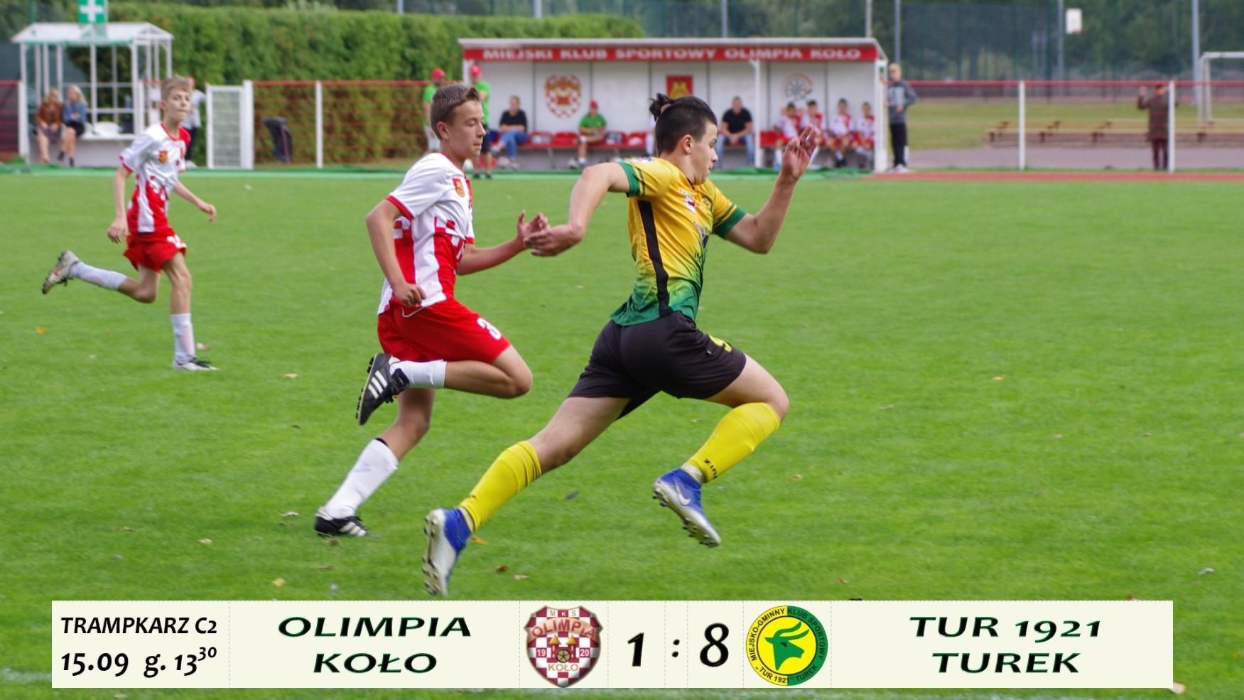 Olimpia Koło- Tur 1921 Turek 1:8