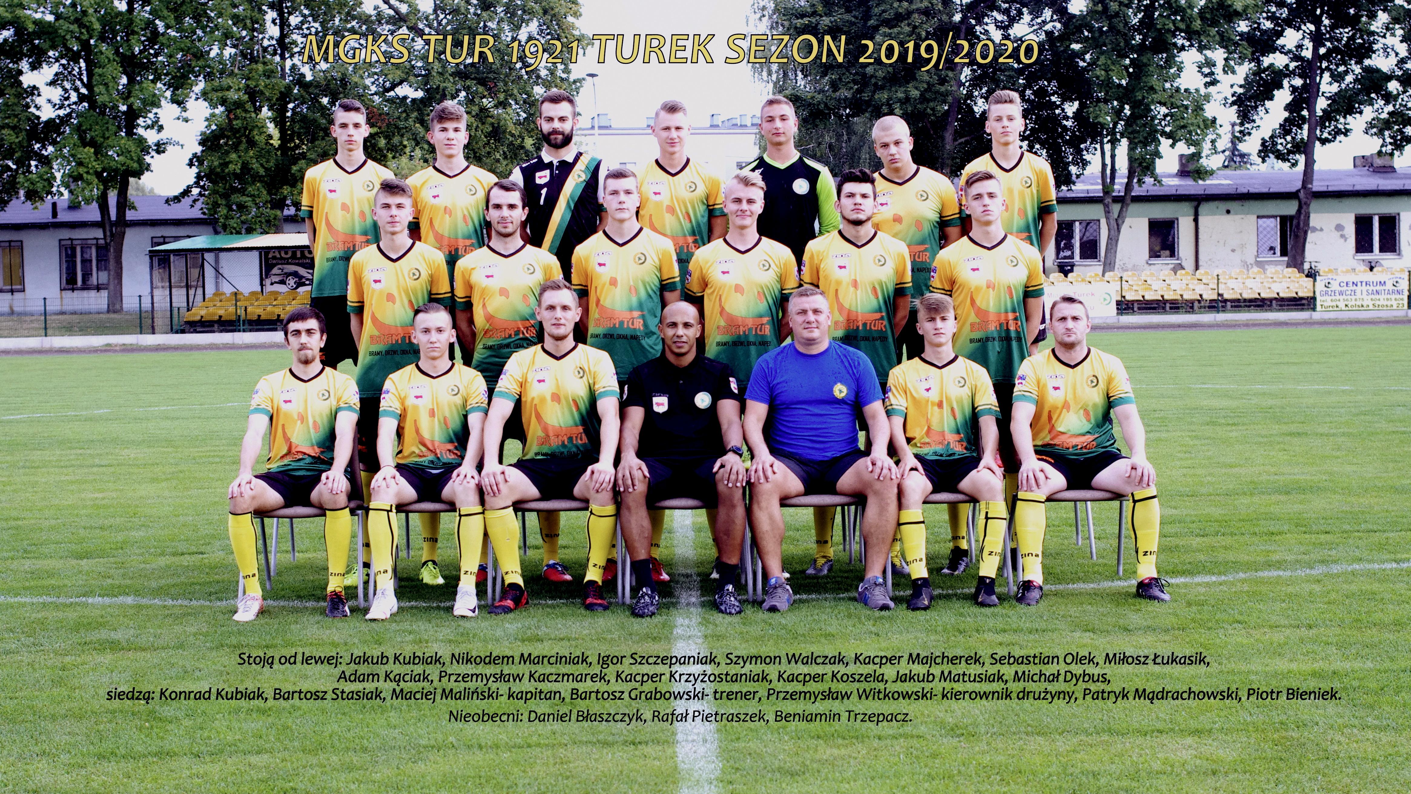 Kadra seniorów- aktualne zdjęcia drużyny.