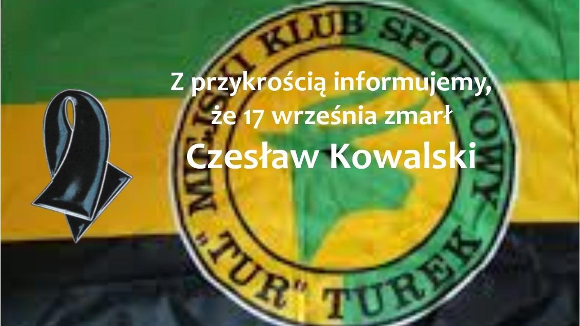 Ostatnie pożegnanie Czesława Kowalskiego.