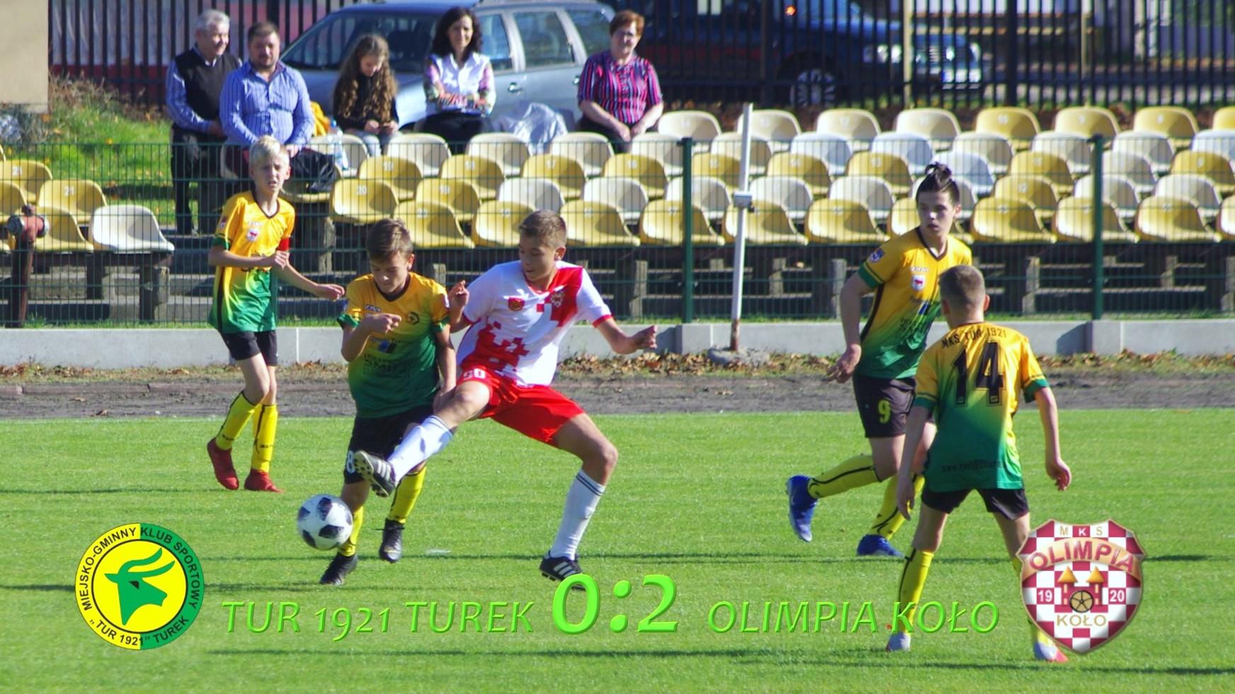 Tur 1921 Turek- Olimpia Koło 0:2