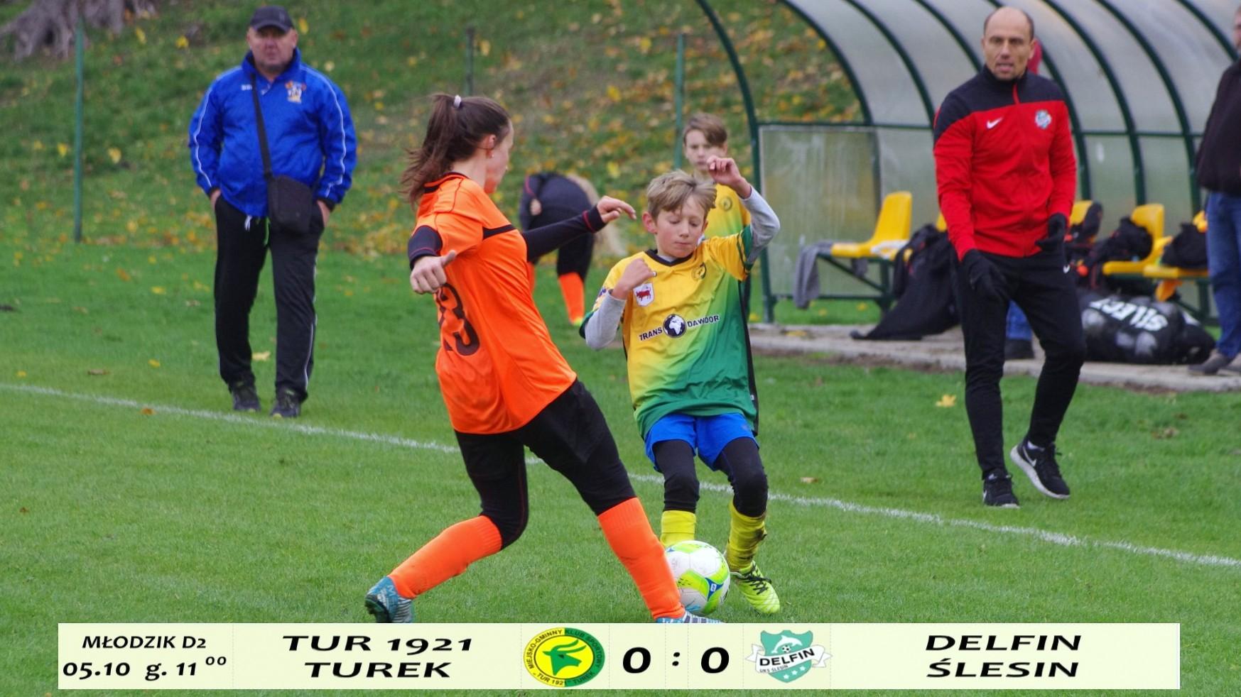 Tur 1921 Turek- UKS Delfin Ślesin 0:0