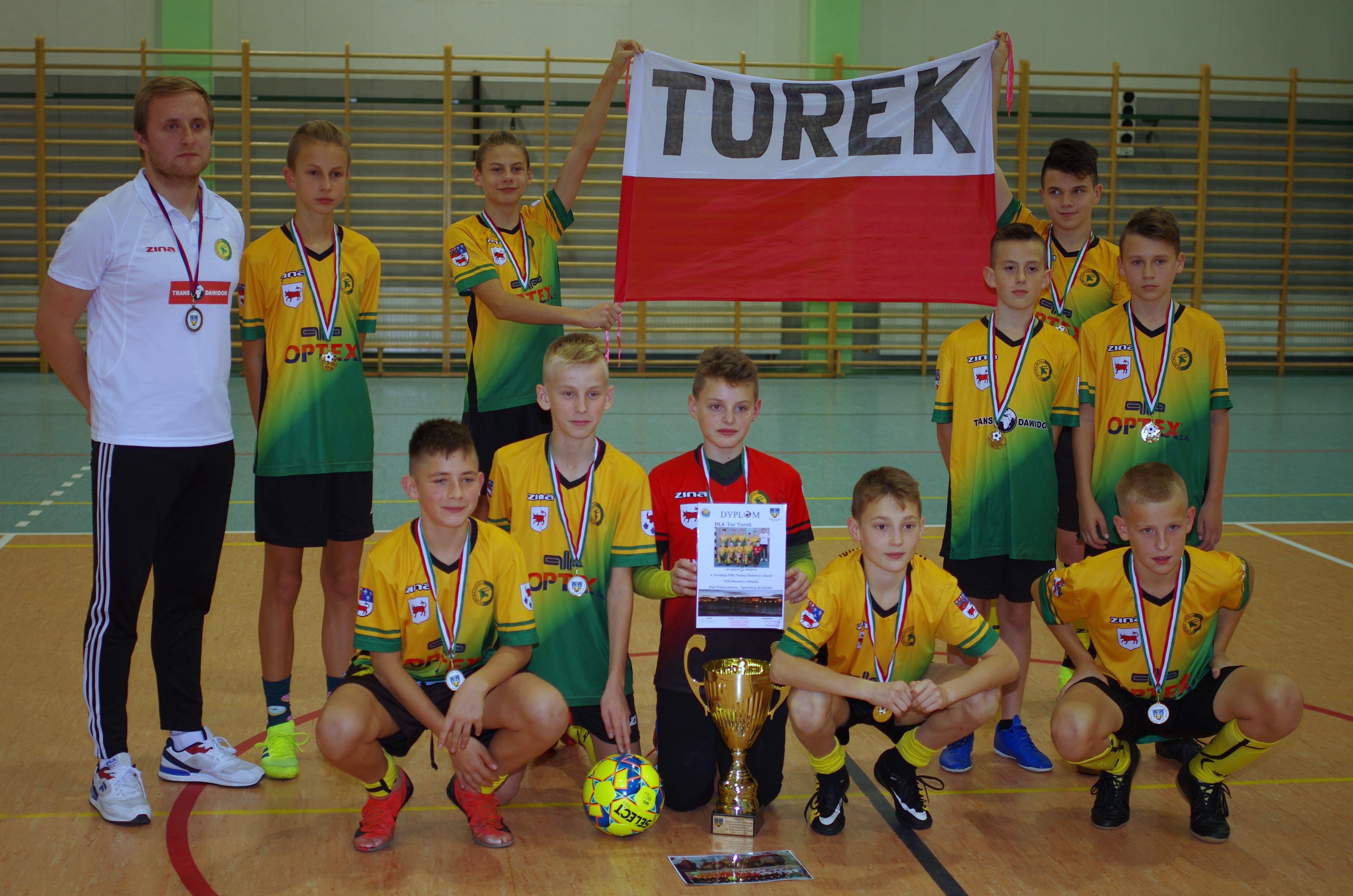 Tur 1921 wygrał Halowy Turniej o Puchar Burmistrza Miasta Pyzdry