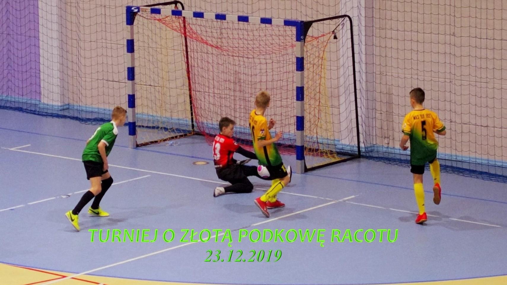 Turniej o Złotą Podkowę Racotu, skrót- 23.12.2019 r.