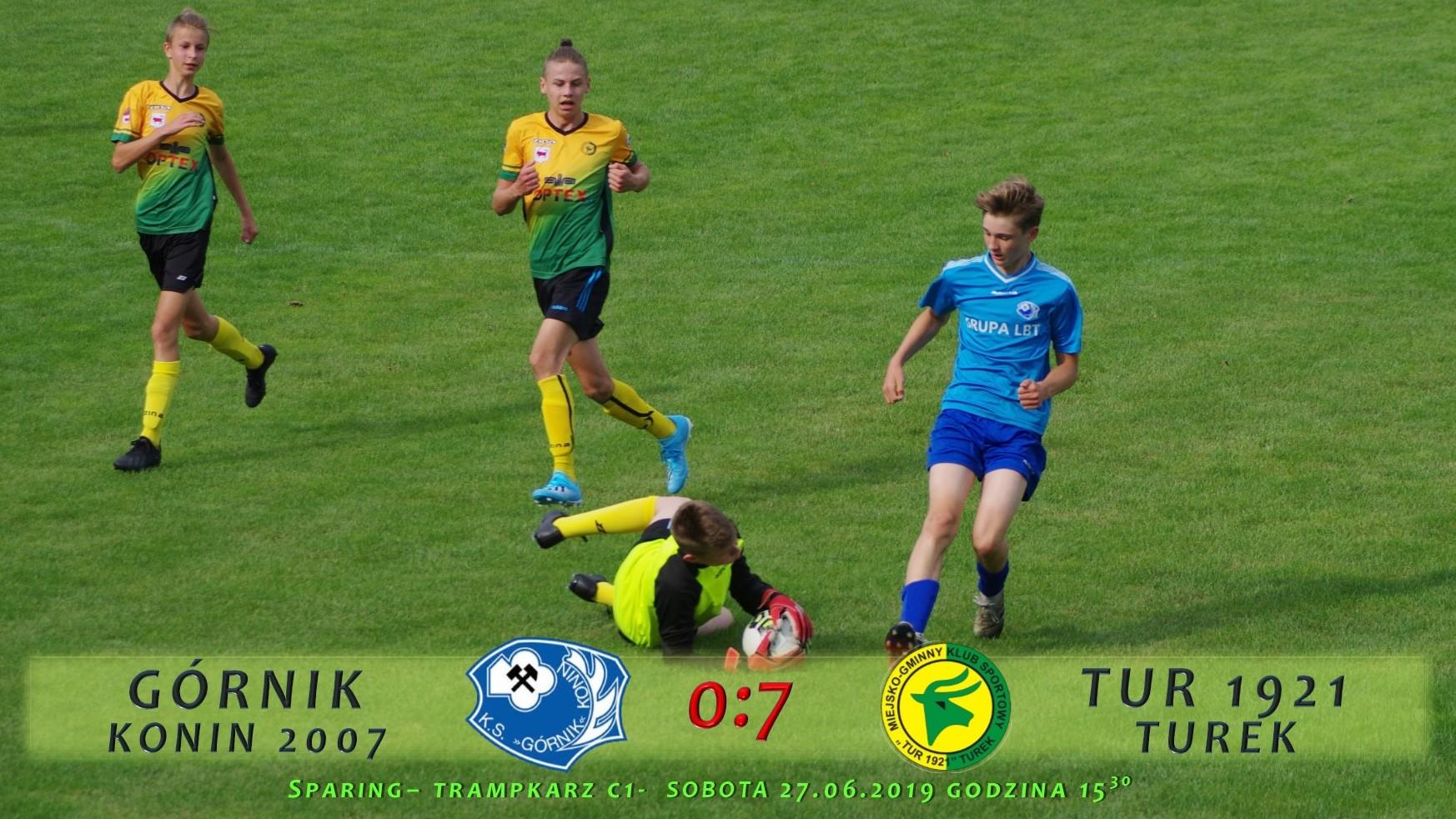 Górnik Konin 2007- Tur 1921 Turek 0:7, sparing C1