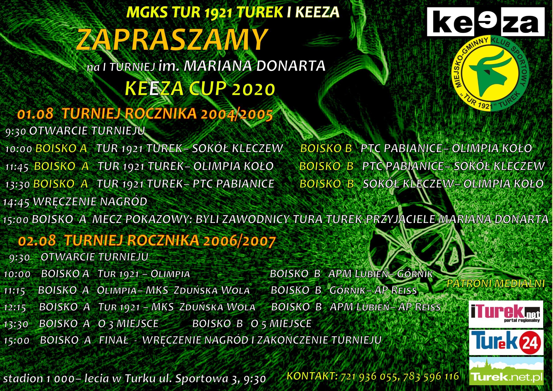 I Turniej im. Mariana Donarta- Keeza Cup 2020