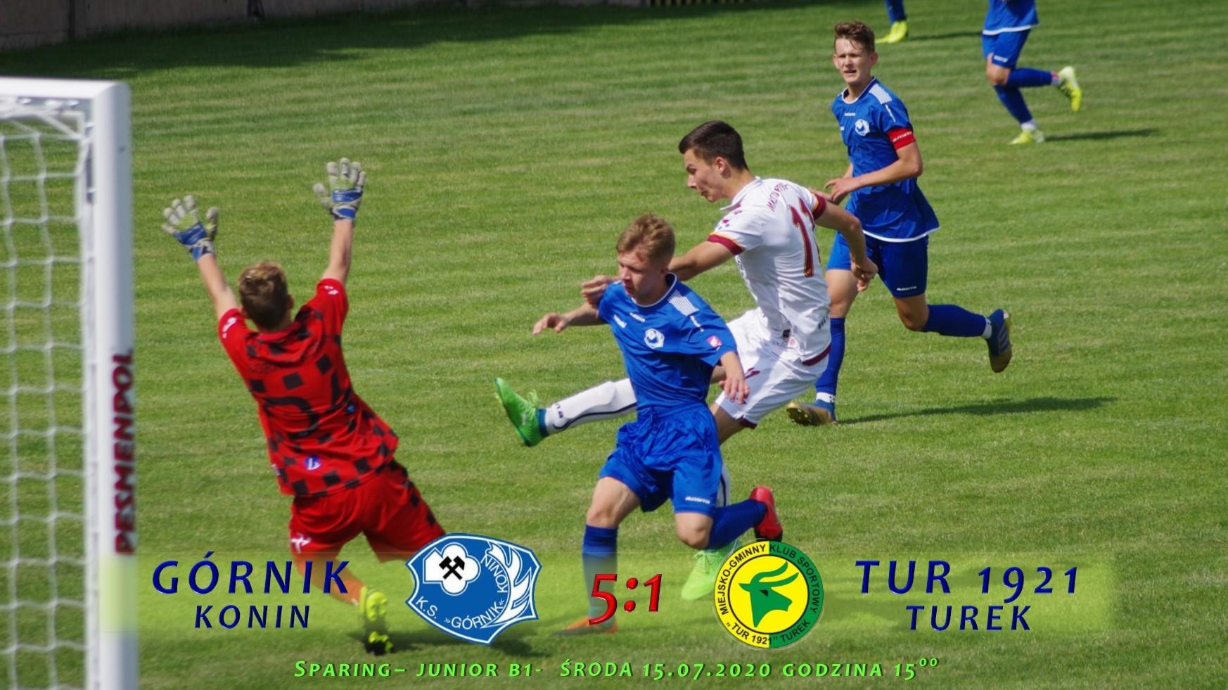 Górnik Konin (2005)- Tur 1921 Turek 5:1, sparing B1