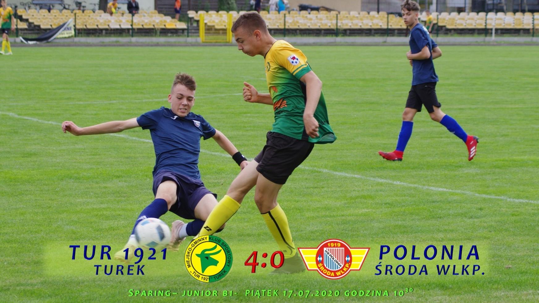 Tur 1921 Turek- Polonia Środa Wlkp. (2005) 4:0, sparing B1