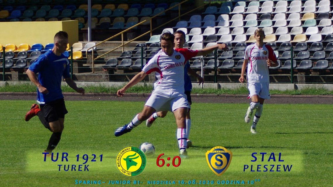 Tur 1921 Turek- Stal Pleszew 6:0, sparing B1