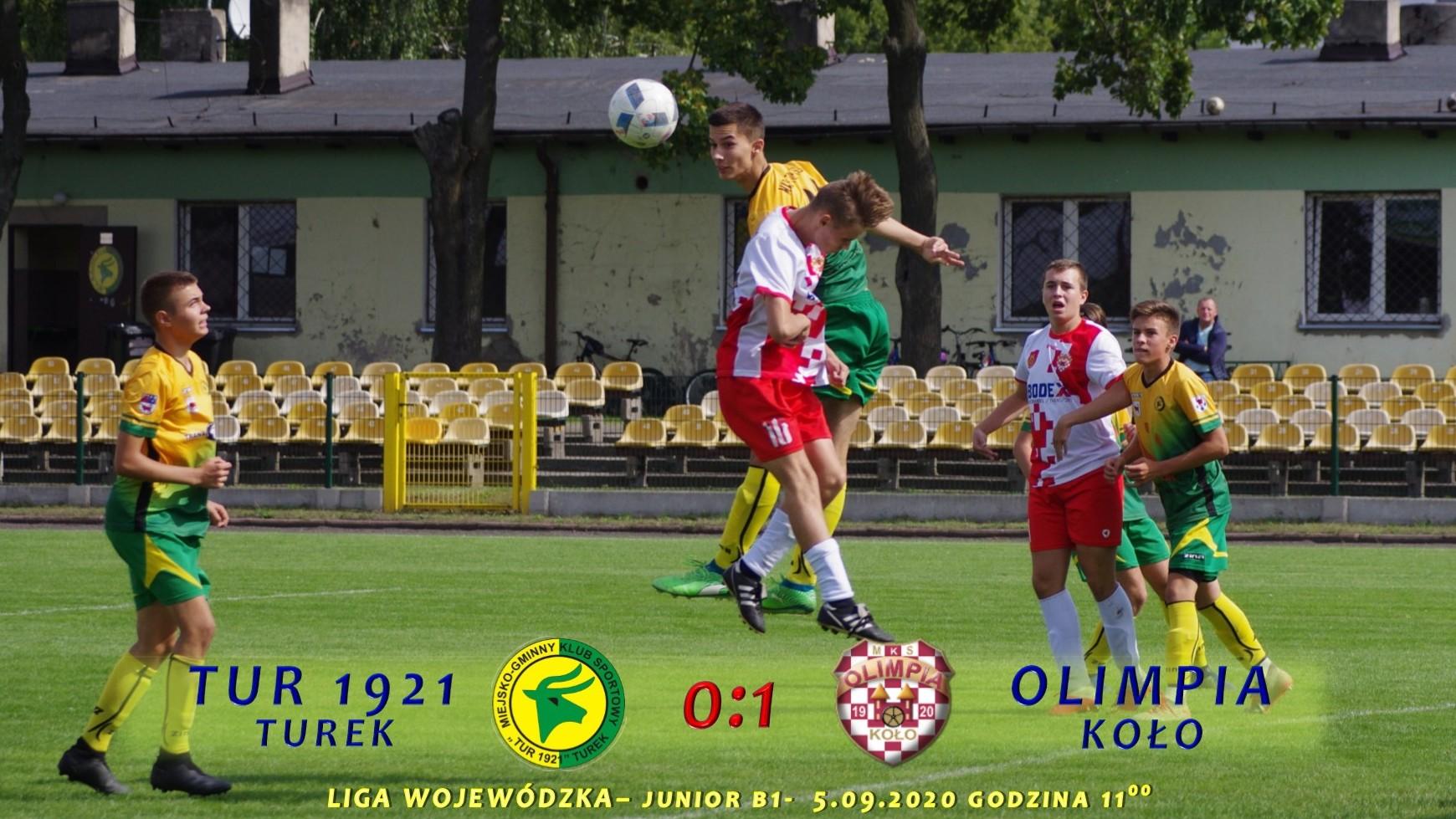 Tur 1921 Turek- Olimpia Koło 0:1, B1