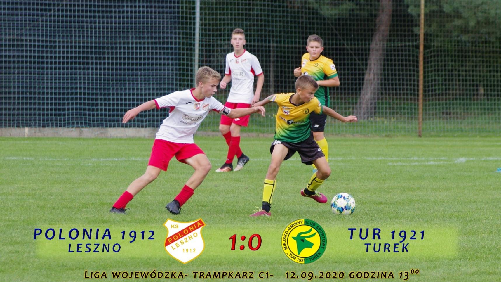 Polonia 1912 Leszno- Tur 1921 Turek 1:0, C1