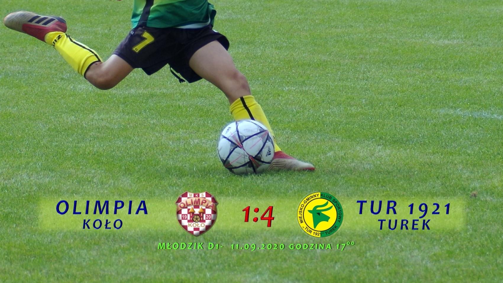Olimpia Koło- Tur 1921 Turek 1:4, D1