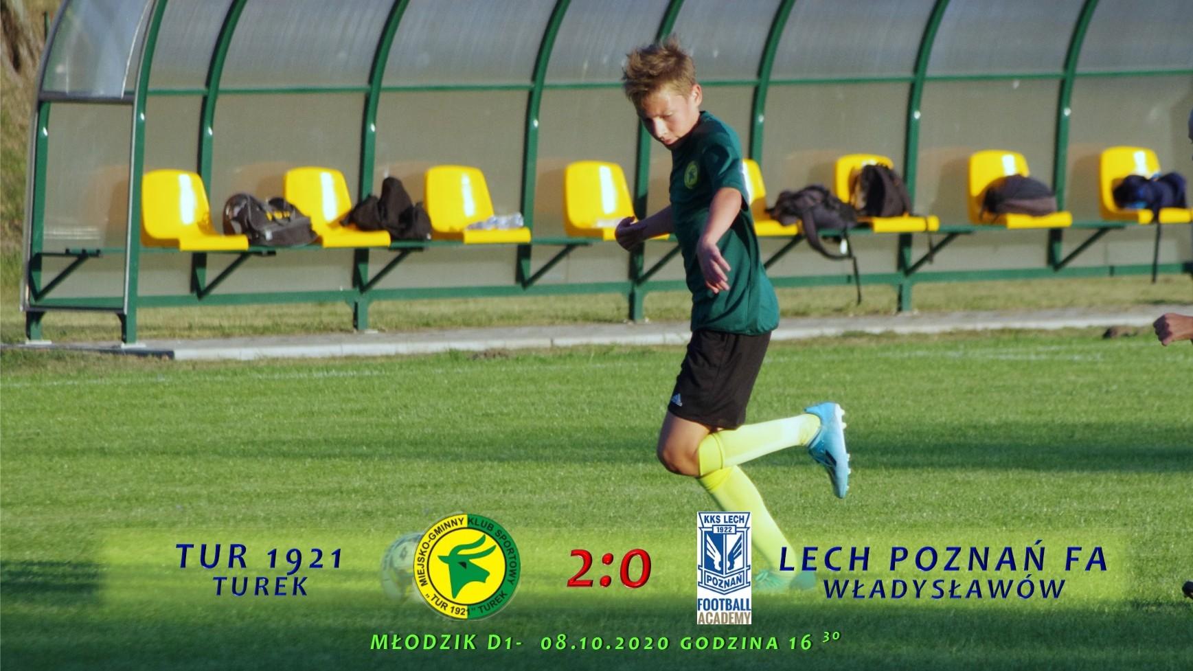 Tur 1921 Turek- Lech Poznań FA Władysławów 2:0, D1