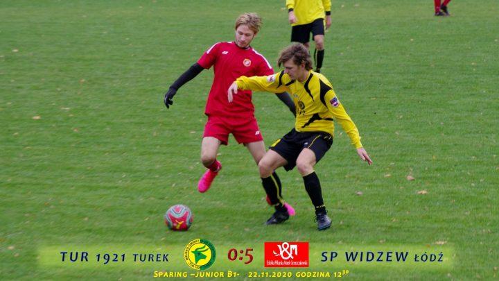 Tur 1921 Turek- SP Widzew Łódź 0:5, B1