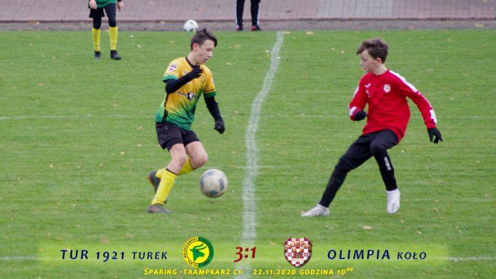 Tur 1921 Turek- Olimpia Koło 2007 3:1, C1