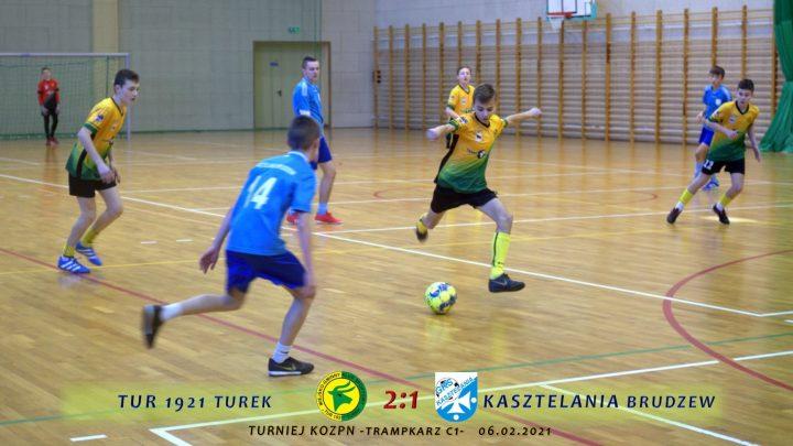 Tur 1921 Turek- Kasztelania Brudzew 2:1, półfinał turnieju KOZPN