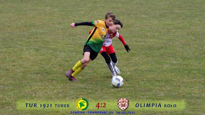 Tur 1921 Turek- Olimpia Koło 2007 4:2, skrót meczu