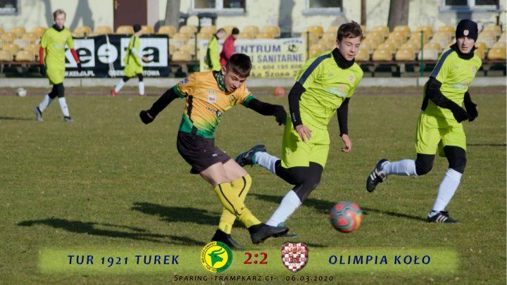 Tur 1921 Turek- Olimpia Koło 2:2, C1