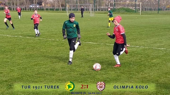 Tur 1921 Turek- Olimpia Koło 2:1, d1