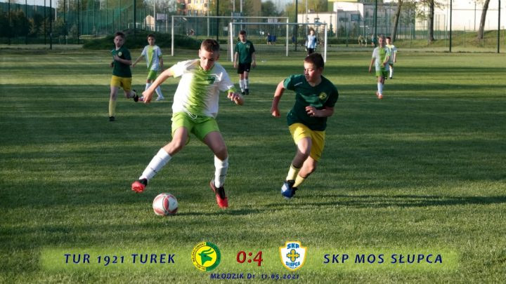 Tur 1921 Turek- SKP MOS Słupca 0:4, d1