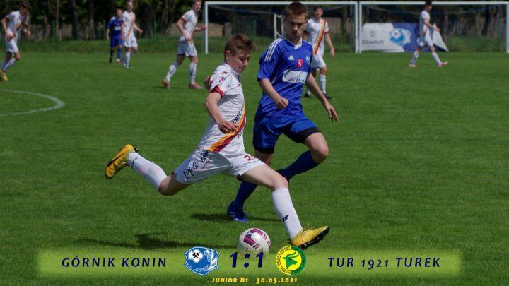 Górnik Konin- Tur 1921 Turek 1:1, b1