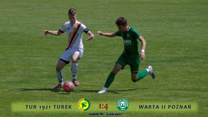 Tur 1921 Turek- Warta II Poznań 1:4, b1