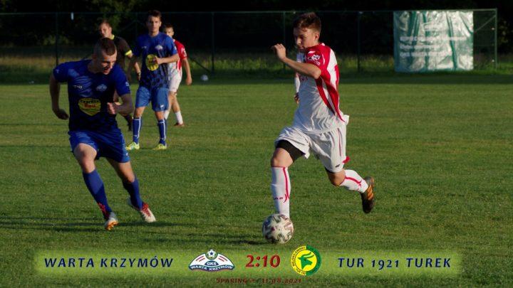 Warta Krzymów- Tur 1921 Turek 2:10, senior