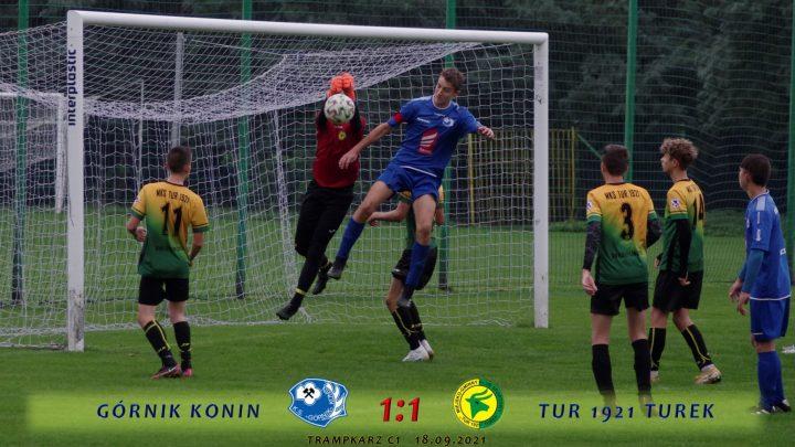 Górnik Konin- Tur 1921 Turek 1:1, c1