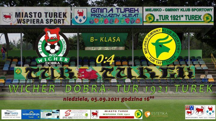 Wicher Dobra- Tur 1921 Turek 0:4, senior