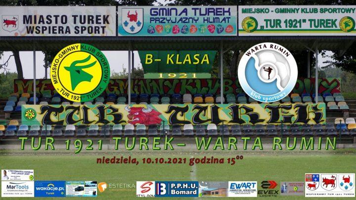 Tur 1921 Turek- Warta Rumin 5:0, senior